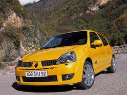 La p'tite sportive du lundi: Clio RS 182.