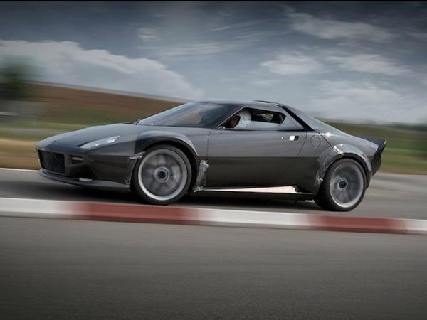 Nouvelle Lancia Stratos: encore des photos