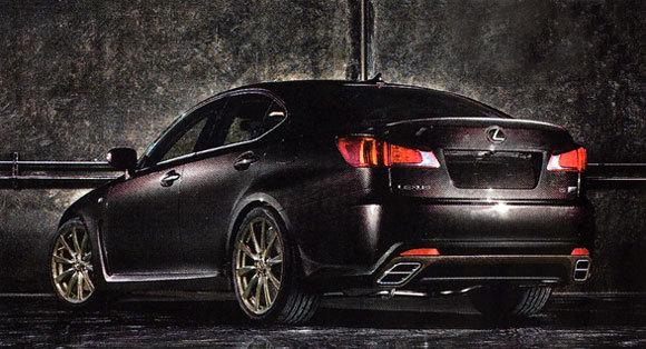 Future Lexus IS F Evolution: l'été sera chaud