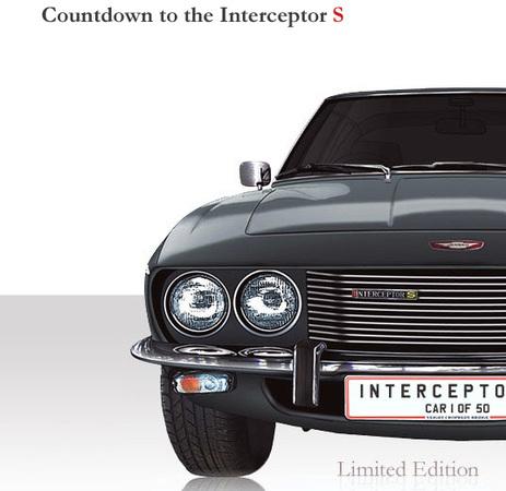 Future Jensen Interceptor S: vraie fausse descendance !