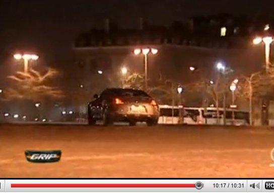 [Vidéo] : Matthias teste Nissan 370 Z ... Drift in Paris !