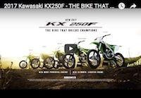 Voici la Kawasaki KX250F 2017 en vidéo