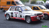 Miniature - 1/43ème - Renault R5 turbo