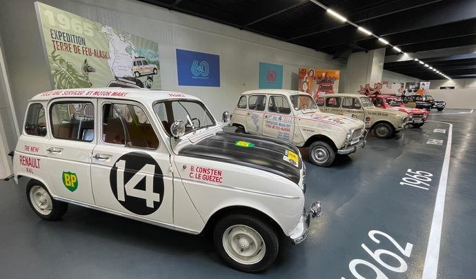 60 ans de la Renault 4L: rencontre avec la star du Losange (reportage vidéo)