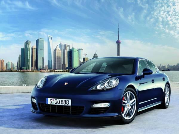 Shanghai 2009 : la Porsche Panamera en photo et en vidéo
