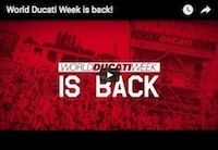 World Ducati Week 2016: une vidéo comme mise en bouche