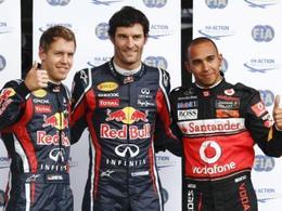 F1-GP d'Allemagne: Webber ne perd pas le Nür' !