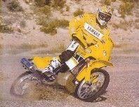 Paris-Dakar 07 : sponsorisé par Yamaha.