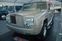 SEMA Show : Hummer H2 Rolls-Royce Phantom Saucisse Style