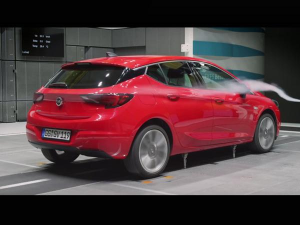 Opel montre en vidéo l'aérodynamique étudiée de l'Astra