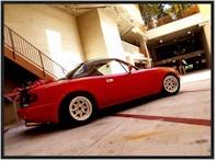 Une Mazda MX5 un peu spéciale...