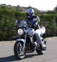 La moto, c'est dangereux.