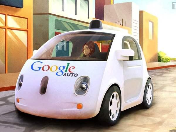 voitures autonomes google auto llc est n e. Black Bedroom Furniture Sets. Home Design Ideas