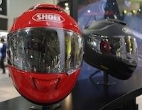 En direct du salon de Milan: Shoei
