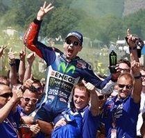 MotoGP - Italie J.3 : Le feu pour Lorenzo la fumée pour Rossi