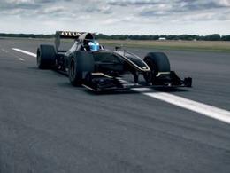 Top Gear : Clarkson essaie une F1 Lotus (avec l'aide de Jean Alesi)