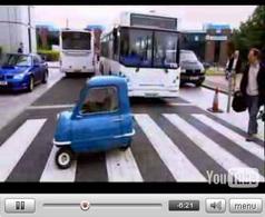 Vidéo : Clarkson en Peel P50. Voir ça et mourir...de rire !