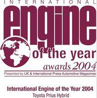 """Le système hybride de la Prius élu """"Moteur International de l'année 2004"""""""