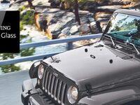 Le Jeep Wrangler adopte un pare-brise similaire à une vitre de smartphone
