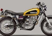 Concept – Yamaha: une SR400 en Scrambler pour nostalgique du XT500