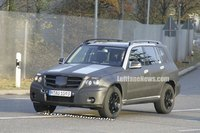 Salon de Detroit : future Mercedes Classe GLK