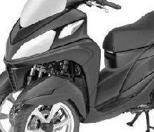 Nouveauté - Yamaha: un Tricity plus musclé en approche