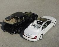 Maybach 62 S Landaulet Concept : luxe et décadence