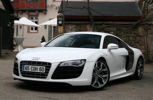 Essai vidéo - Audi R8 V10 : reçu 10/10