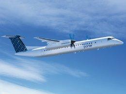 Programme d'essais : l'avion Bombardier Q400 alimenté par du biocarburant à la caméline dès 2012
