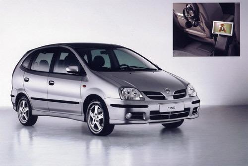 Nissan Tino DVD : pour calmer vos enfants