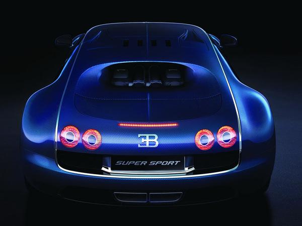 Bugatti Veyron Super Sport : en bleu, c'est mieux