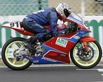Championnat de France 125 à Albi : Grégory Di Carlo a eu chaud