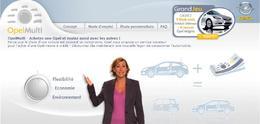 [Vidéos] Campagne Web pour OpelMulti