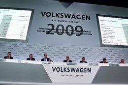 Résultats trimestriels : profits en baisse de 74% pour VW