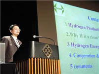 La Chine dévoile sa première voiture à hydrogène