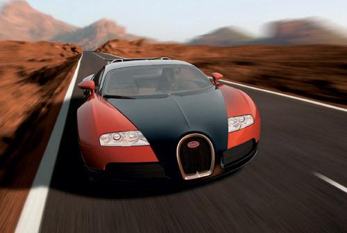Le lancement de la Bugatti Veyron repoussé