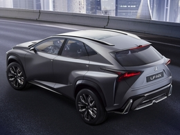La Lexus NX définitive présentée au salon de Pékin 2014