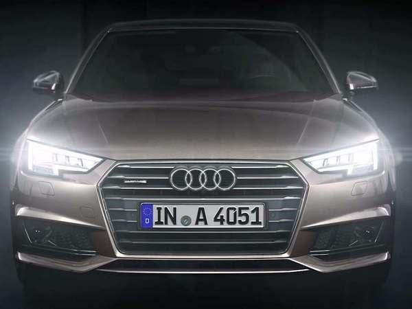 Audi présente l'éclairage matrix LED de la nouvelle A4