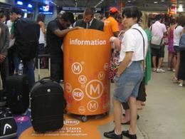 Transports en commun en région Île-de-France  : les touristes doivent être bien accueillis
