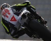 Moto GP - Honda: Simoncelli a du travail