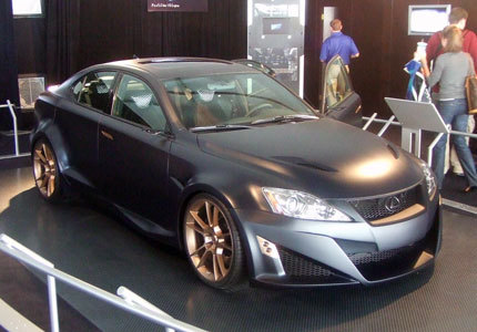 SEMA Show : Lexus IS-F wide body par Five Axis