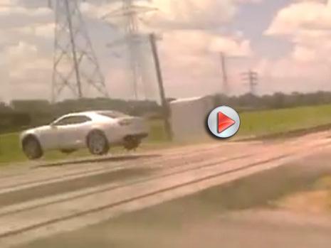 [Vidéo] Ils louent une Chevrolet Camaro SS pour s'amuser avec et ça finit mal