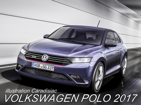 une toute nouvelle volkswagen polo en 2017. Black Bedroom Furniture Sets. Home Design Ideas