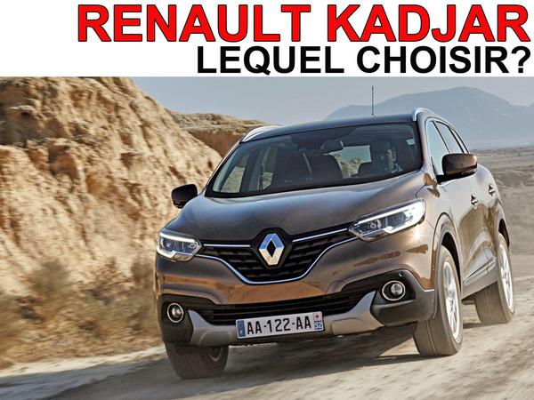 Renault kadjar lequel choisir - Surmatelas lequel choisir ...