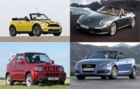 Dossier cabriolets : tous les modèles du marché