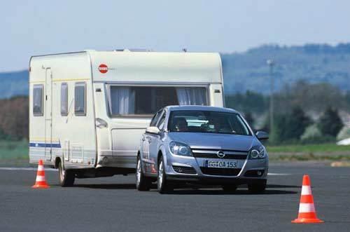 Opel présente le contrôle automatique de lacet TSP