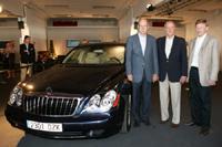 Une Maybach pour Juan Carlos 1er