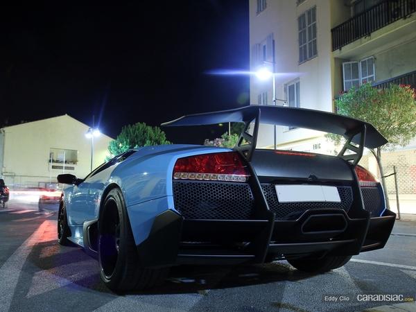 Photos du jour : Lamborghini Murcielago LP 670-4 SV