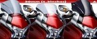 Puig, nouvelle bulle Z-Racing pour la Honda VFR 1200F.