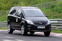 Opel Zafira OPC, à l'assaut du Nürburgring
